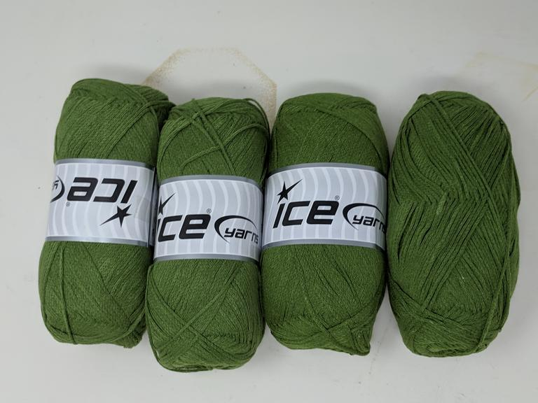 Lot of 4 Green Ice Yarn