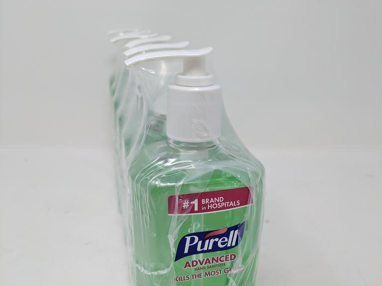 Lot of 12 Purell Advanced Hand Sanitizers - 12 fl. oz.