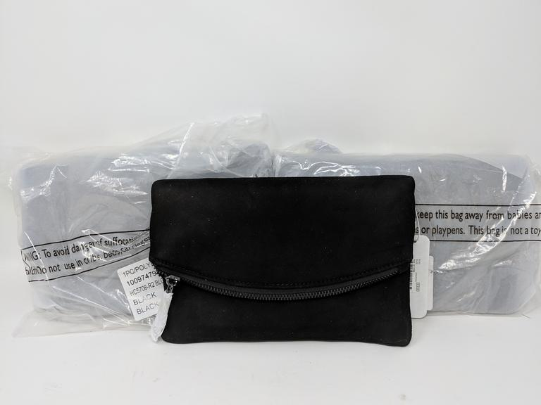 Lot of 3 Black Poly Bags