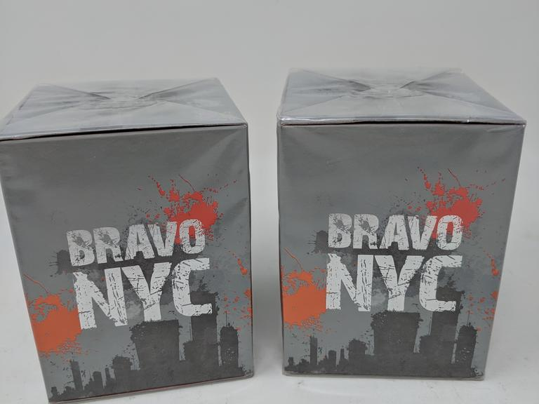 Lot of 2 Bravo NYC  Eau De Toilette Sprays 3 fl.oz.