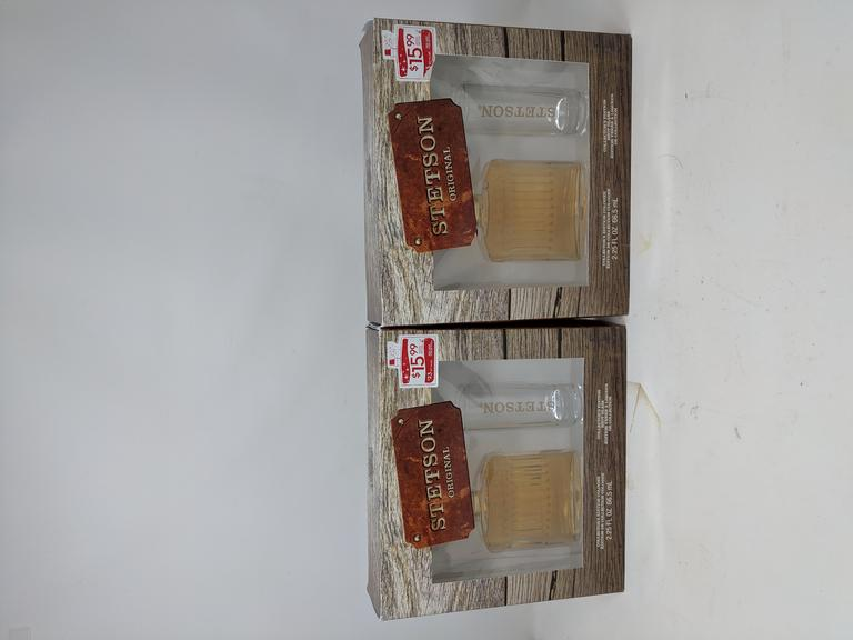 Lot of 2 Stetson Cologne Packages