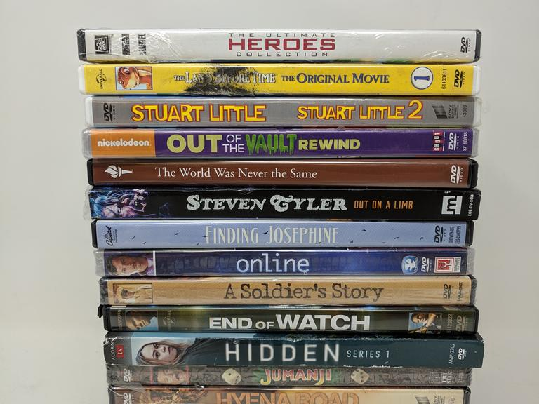 Lot of Assorted Movies