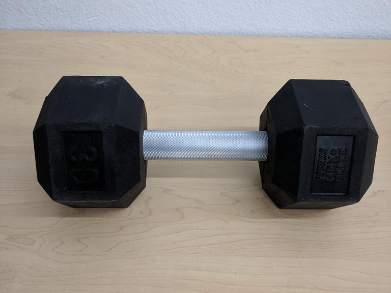 30 lb Hex Dumbell