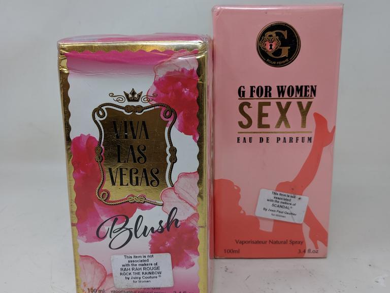 Dutch Goat Auction | G For Women Sexy Perfume & Viva Las Vegas Blush