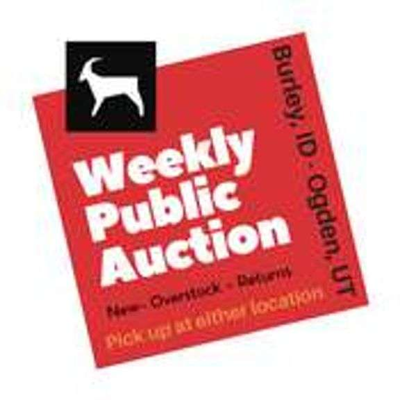 6/29/21 (Tuesday 2 PM) Household New-Overstock-Returns Public Auction