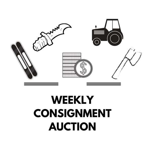 6/28/21 (Monday 7 PM) Consignment and Ammo Auction (10% Buyer's Premium)