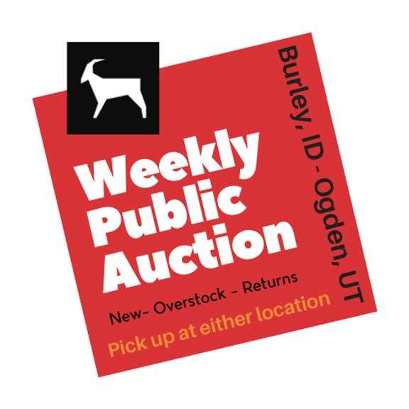 10/05/21 (Tuesday 7 PM) Household New-Overstock-Returns Auction